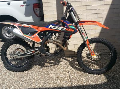 2016 250 sxf rolling chassis